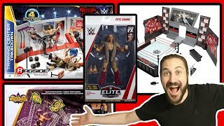 NEW PETE DUNNE ACTION FIGURE IMAGES + LEAKED NEW WWE MATTEL FIGURE PLAYSET NEWS!!!