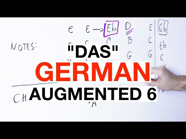 The GERMAN Augmented 6th Chord [Plus The Swiss/Dutch Augmented 6th]