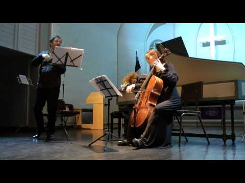 Comte de Saint-Germain. Sonata for Violin & Basso Continuo in C Minor.