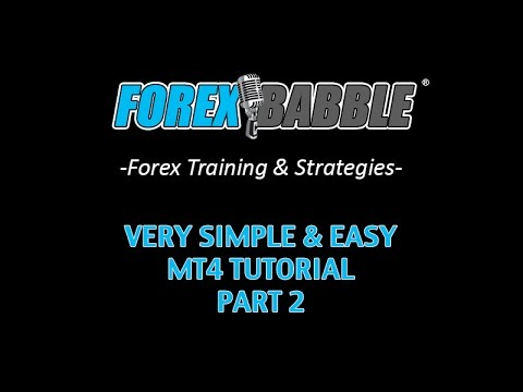 Forex Trading: MT4 Tutorial (In Layman's Terms) Part 2 - Yusef Scott