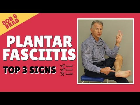 Top 3 Signs You Have Plantar Fasciitis (And Top 3 Signs You Don't)