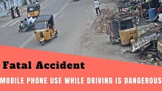 Mobile phone use while driving is dangerous! Fatal Accident At Bahadurpura | BBN News|