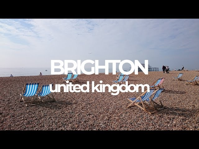 Brighton - A beach with no sand?!