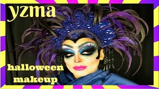 YZMA HALLOWEEN MAKEUP TRANSFORMATION STEP BY STEP