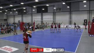 National Volleyball Championship Div 3 U16 Girls Lumsden Rage vs TSAVC