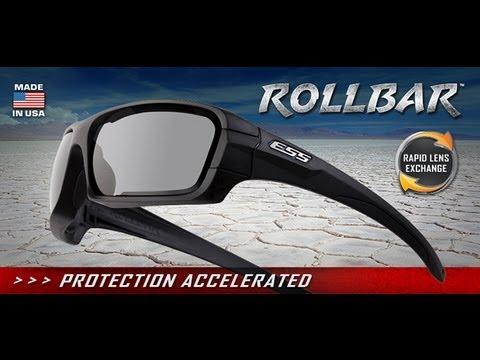 9e899066b2 ESS Rollbar Ballistic Sunglass with Rapid Lens Exchange - YouTube