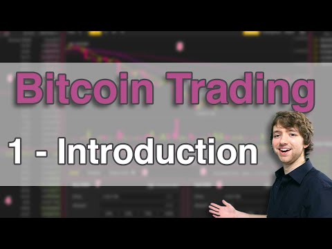 Bitcoin Trading Tutorial 1 - Bitcoin Trading For Beginners
