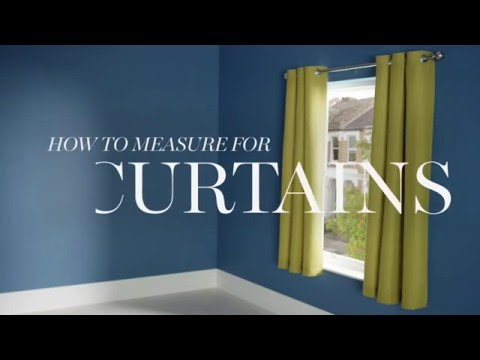 M&S Home: How To Measure For Curtains