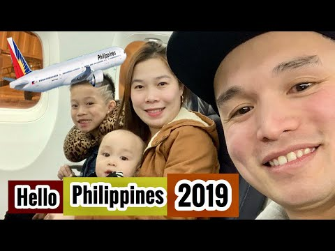 Vlog#28: Philippine Airline Experience | Traveling with infant