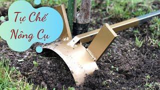 Sáng Chế Nhà Nông - Xem Nông Dân Tự Chế Nông Cụ Làm Vườn