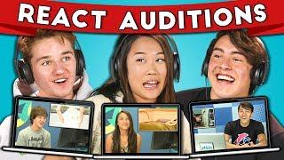 Teens React to their auditions! We post for new reactors on Instagram! Follow us http://www.instagram.com/f/fbe Watch all main React episodes ...