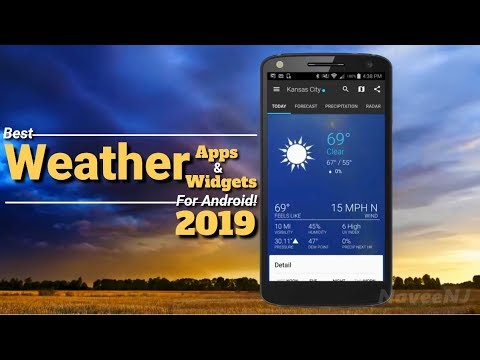 7 Best Weather Apps & Weather Widgets For Android Of 2019!