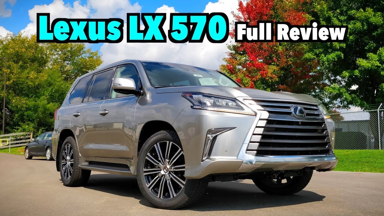 2019 Lexus LX 570: FULL REVIEW | $100K Extreme Luxury On ...