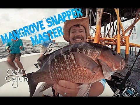 Fishing With the Mangrove Snapper Master on Castin' Cajun