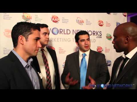 The World Networks celebrates in Glendale, CA