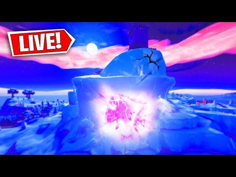 *NEW* FORTNITE POLAR PEAK OPENING RIGHT NOW! FORTNITE CUBE EVENT! (FORTNITE BATTLE ROYALE)