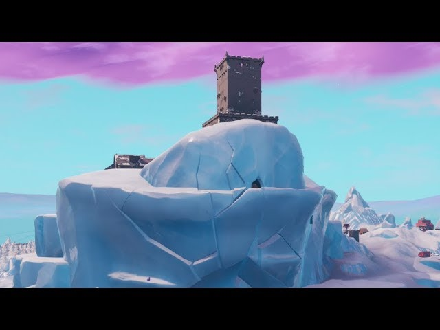 The NEW Polar Peak Event COUNTDOWN AT TILTED TOWERS! (FORTNITE BATTLE ROYALE)