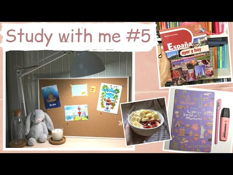 Study with me #5-учись со мной, новые книги, украшаем moodboard