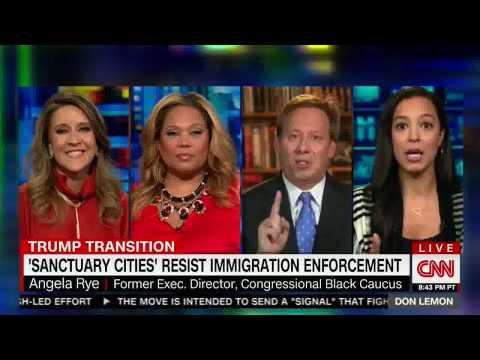 CNN's Angela Rye Discusses Sanctuary Cities Part I