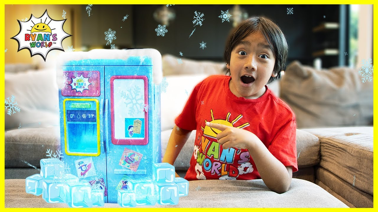 Download Chef Ryan pretend play with Refrigerator Surprise