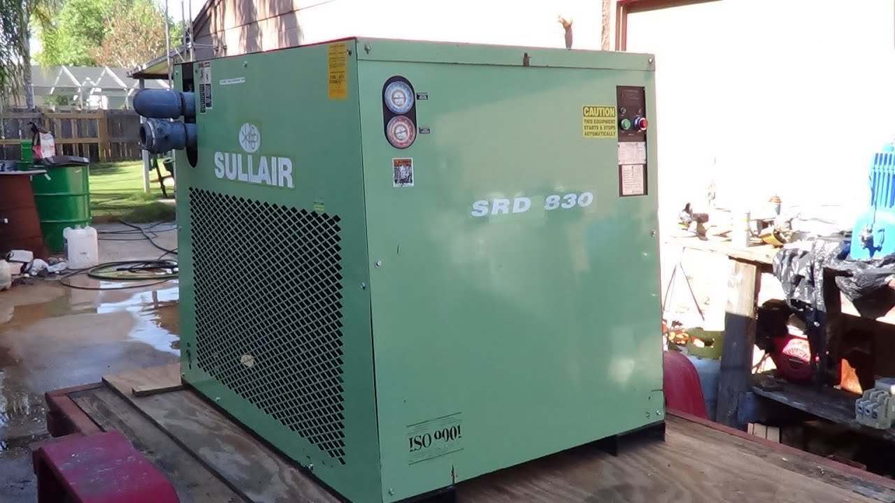 How refrigerated compressed air dryers work - YouTube on