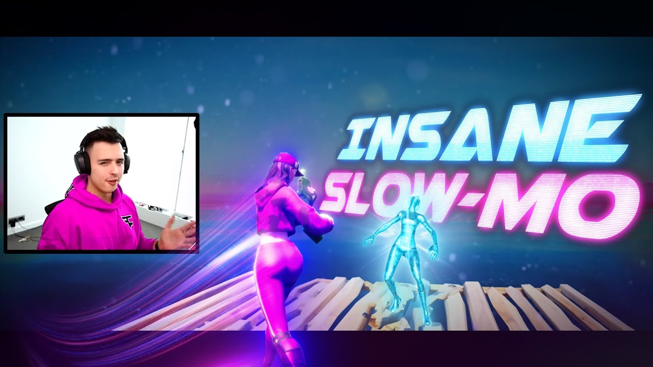 How to make ULTRA SLOW-MO Effect in your Fortnite Montage!