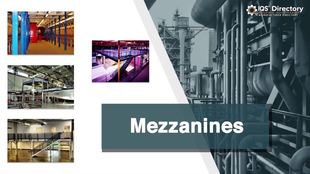 Mezzanine Manufacturers | Mezzanine Suppliers