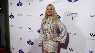 """Katie Cazorla """"Second Wives Club"""" Premiere Screening Red Carpet"""