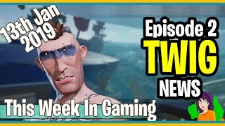 This Week In Gaming News - TWIG News Episode 2 - By Shillianth the chick with the Aussie accent