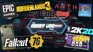 AJS News - Borderlands 3 Issues, Fallout 76 sells Missing Features, & UK Lootboxes w/ ESA's Reply!