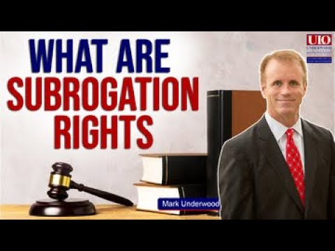 What are subrogation rights?