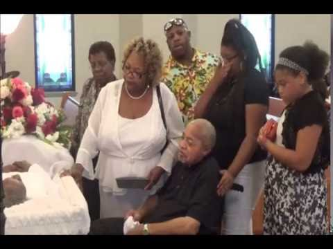 Mother Lillian Tates Homegoing Service (Short Clip Of Sat) by Bishop