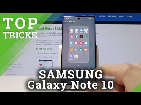 Tips & Hacks for SAMSUNG Galaxy Note 10 - Best Options / Super Apps