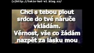 Ben Cristovao & Monika Bagárová - Chci(lyrics)by Niké