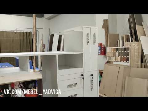 Мебель Ядвига. Маникюрный стол МС21-1 с изменениями. Часть I