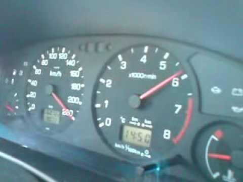 nissan primera 2.0 se/gt beschleunigung auf ~230km/h - youtube