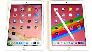 2017 iPad vs 2018 iPad Speed test!