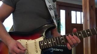 1965 2014 Fender Strat Relic With EVH Humbucker Eddie Vegas