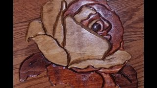 Segmentation Of A Rose On My Scroll Saw