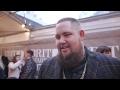 Capture de la vidéo Rag N Bone Man Looks Back On His Huge Success And Ahead To His Next Album At The Brit Awards 2017
