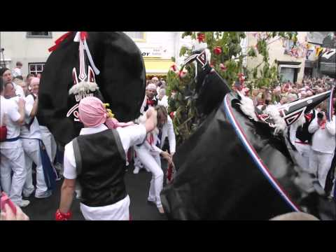 Padstow May Day - The Obby Oss Festival in Padstow 2015