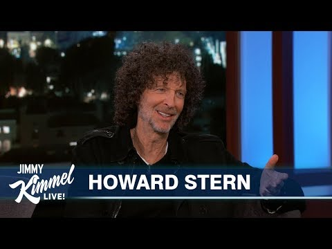 Jimmy Kimmel's   with Howard Stern