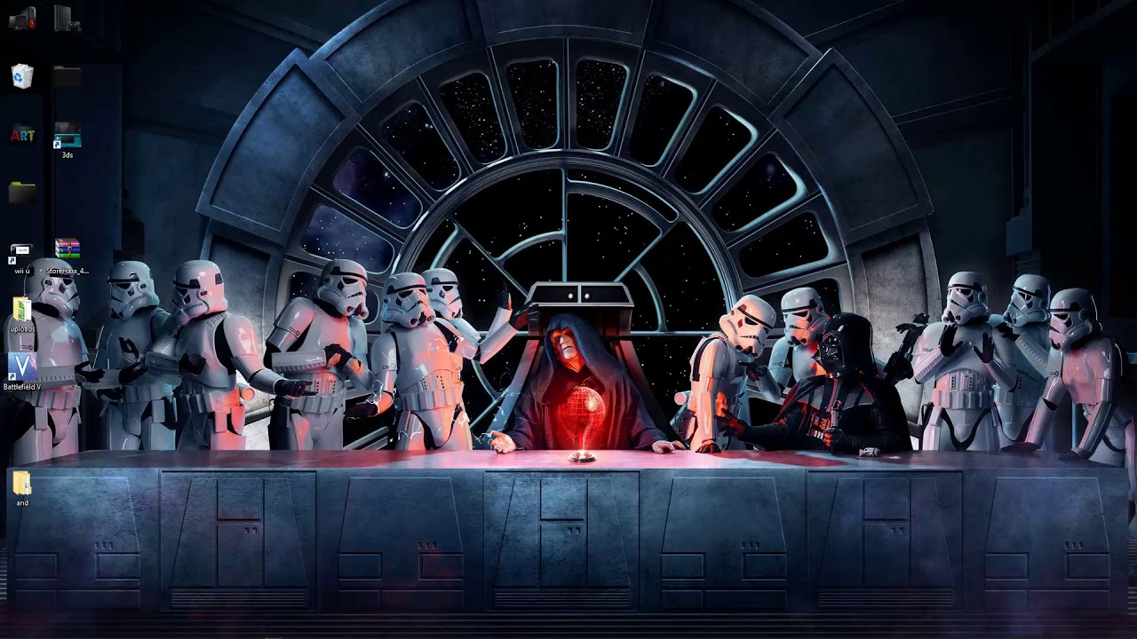 Star Wars The Last Supper Live Wallpaper Free Download Youtube