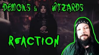 Demons & Wizards - Diabolic (Official Video) Reaction!!