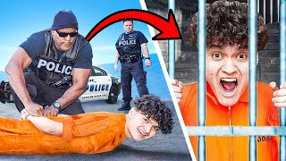 ARRESTING MY LITTLE BROTHER PRANK!! (Freakout)