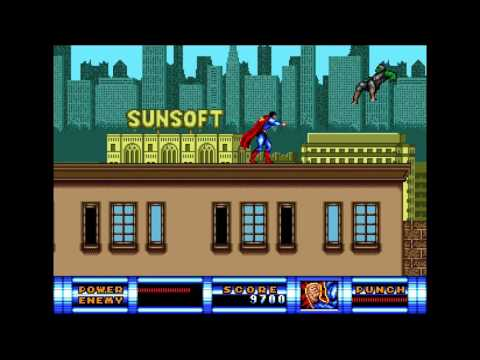 Superman [Mega Drive, 1993]: Licensed Video Games #117