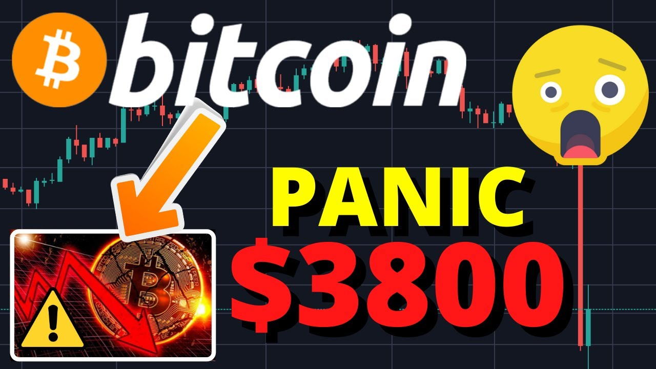GAME OVER?!? BITCOIN CRASHES TO $3800!! LARGEST BITCOIN CRASH EVER!!