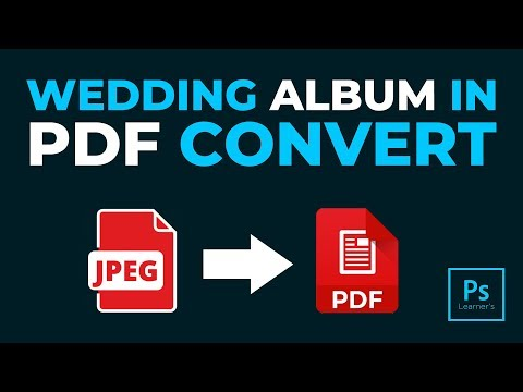 How To Convert Multiple JPG To One PDF In Photoshop Hindi