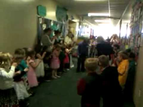 Mr. Q and Miss U get married,  Cross Creek Charter Academy, 2013 4th Video (The getaway)