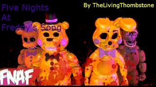 Fnaf SFM The Living Tombstone Fnaf 1 Song Music Video